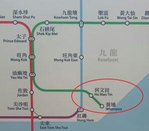新駅のマップ